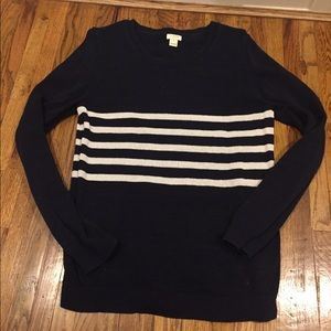 Jcrew Striped Sweater